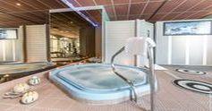 Hotel Restaurant spa Aigue Marine bain à remous
