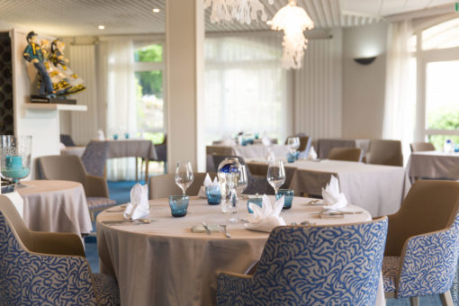 Hotel Restaurant Aigue Marine faience Micheau-Vernez
