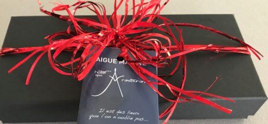 Hôtel restaurant spa Aigue Marine Coffrets_cadeaux_bretagne