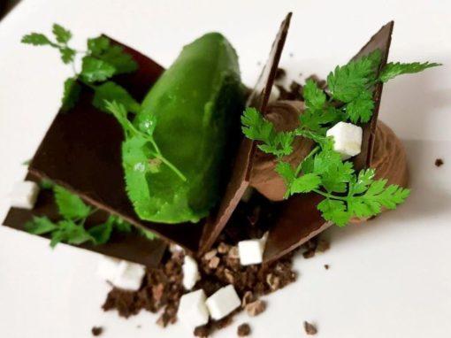 Restaurant Aigue Marine chocolat brebis cerfeuil