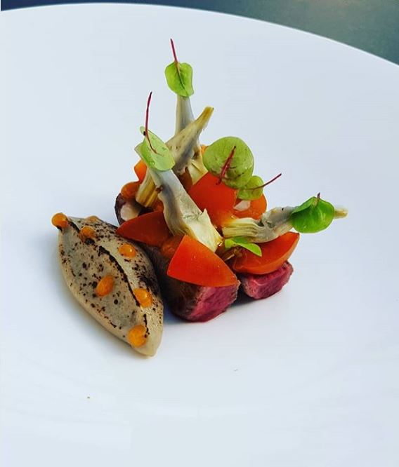 Aigue-Marine_filet-de-boeuf-artichaut-abricot